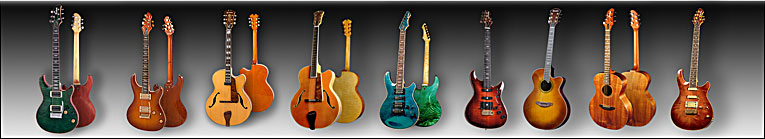 Berketa Guitars, Specialising in jazz arch tops and unique acoustic and electric guitars